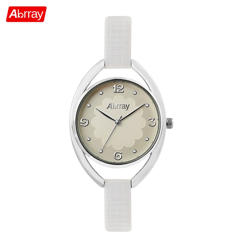 Abrray Elegant Women Wrist Watches Leather Watchband Top Luxury Brand Ladies Quartz Japan Movement Clock 2017 New Female Watch dwg brand new wooden watch japan quartz movement rhinestone ladies fashion brown wrist watches women cherry wood clock with box