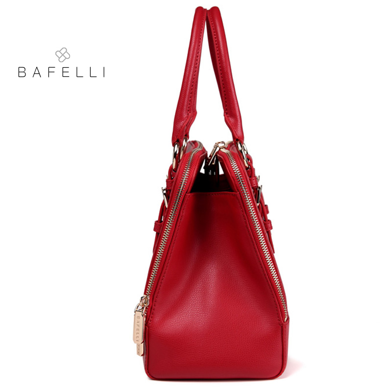 Mode Schwarzes Split rot Frauen Hand Bafelli Für Tasche Hohe Damska Rot Torebka Leder Damen Kapazität Taschen Handtaschen Sommer Marke qHwRTI