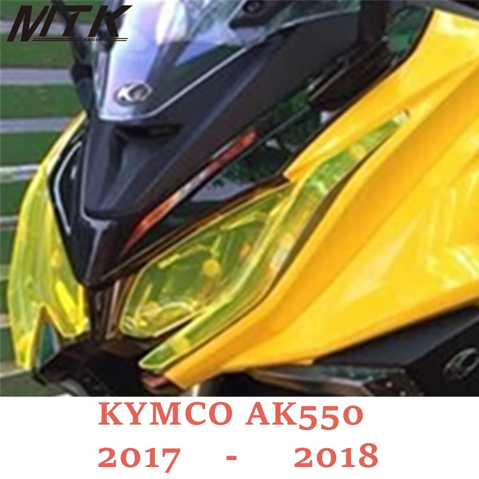 f9b3df473c85 MTKRACING For KYMCO AK550 Motorcycle Parts Headlight Protector Cover Screen  Lens AK 550 2017-2018