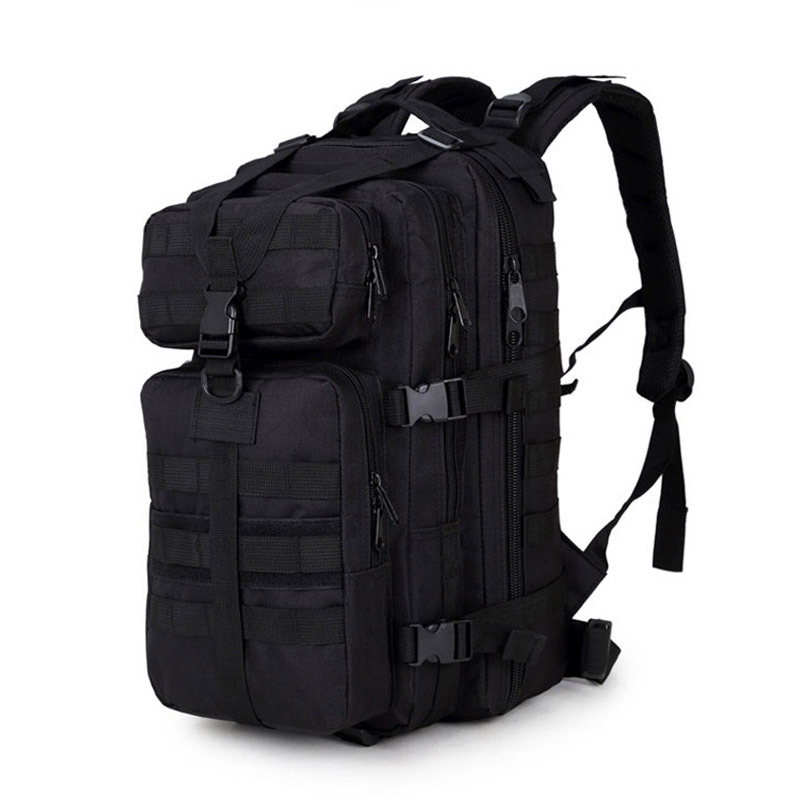 35L 3P Military Tactical Assault Pack Backpack Molle Waterproof Bug Out Bag Small Rucksack for Outdoor Hiking Camping Hunting 600d tactical molle 3p hydration assault backpack rucksack outdoor hiking camping trekking waterproof heavy duty storage bag