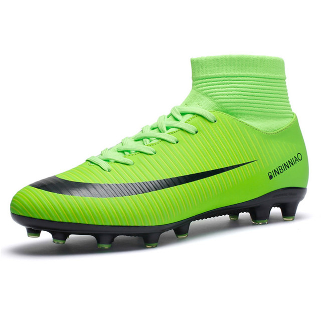 1943e3cf443 Professional Out Door Football and Soccer Shoes with Studs for ALL