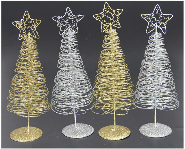 holiday home outdoor ornament large wrought iron crafts star metal wire standing christmas tree vintage christmas decorations
