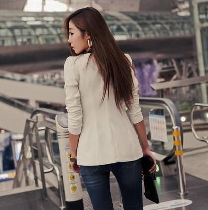 Female Career Fashion Suit Women Long Sleeve Blazer Mujer New OL Style Formal Slim Jackets Office Ladies Work Wear Uniform Coat