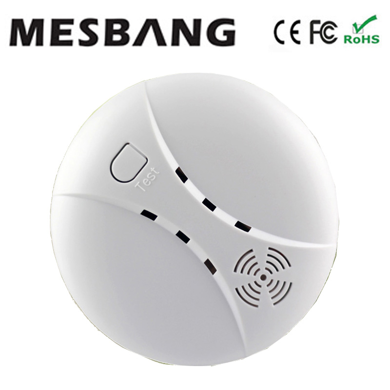 Wireless Smoking Sensor Moking Detector Smoking Sensors 433MHZ For G90B Free Shipping