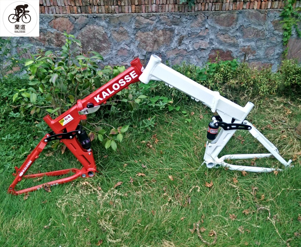 Kaloss 26*17 165mm reise faltbare legierung fahrradrahmen ...