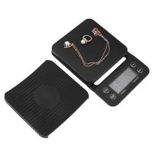 3kg 0 1g LCD Digital Electronic Jewelry Weighing Home Coffee Timer Scale Electronic Kitchen Weighing Food