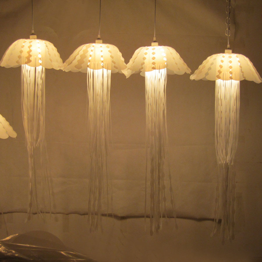 New Creative Modern Dining Pendant Lamp For Living Room Restaurant Jellyfish Designs Individual Lamps