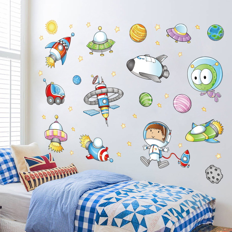 Planet, Kids, DIY, Space, Shuttle, Bedroom
