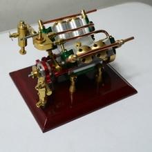Live Steam Engine* V 4-Cylinder Engine