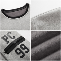 Pioneer Camp thick warm fleece hoodies men hot sale brand clothing autumn winter sweatshirts male quality men tracksuit 699035 4