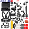 LANBEIKA 35 In 1 Accessories Double Bracket Bridge Carry Box Head Chest Strap Mount Adapter For
