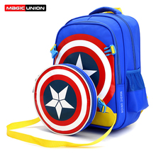 Magic union grandes mochilas escolares para niños niñas niños mochilas mochilas de los estudiantes de primaria impermeable schoolbag bolsa de libros para niños
