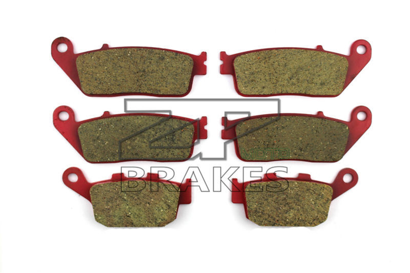 цены  Brake Pads Ceramic For Front + Rear HONDA CB 400 Four V/V-II/W/W-II (NC36) 1997-1998 OEM New High Quality ZPMOTO