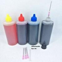 YOTAT 4 Bottle 200ml Universal Refill dye ink For HP For Canon For Brother Epson For Samsung For All brands inkjet printer