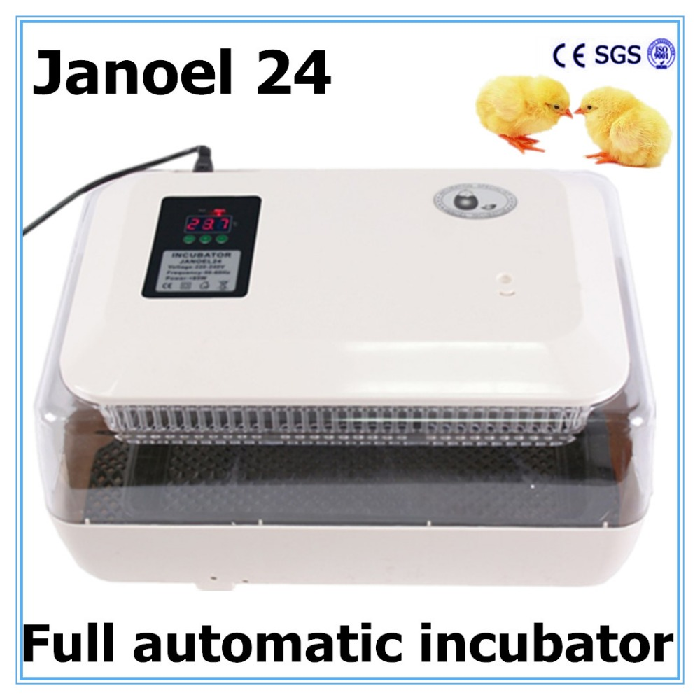 24 Egg  Incubator  Hatched Duck Goose Temperature Control Equipment, Fast Shipping!!!