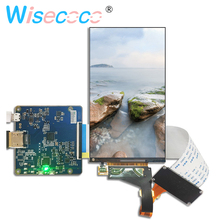 LS055R1SX04 5.5 inch 2K lcd 1440*2560 screen display panel for VR product with driver board video projector DIY projector 7 inch ips hd display bright lcd screen driver board kit diy projector 1280 800 reversing