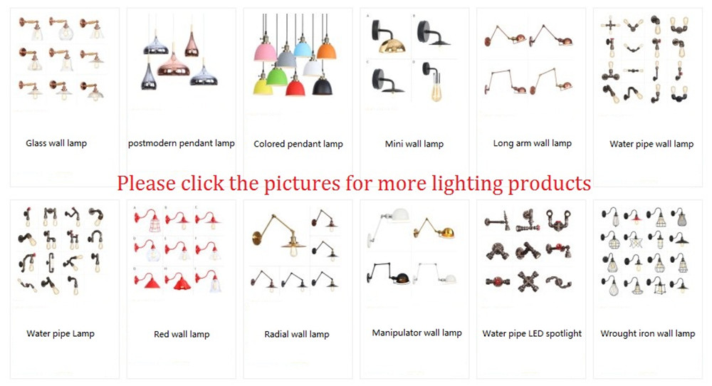 Design nórdico ajustar led lâmpada de parede