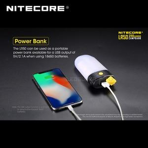 Image 5 - 3 em 1 nitecore lr50 campbank como power bank + lanterna de acampamento + carregador de bateria