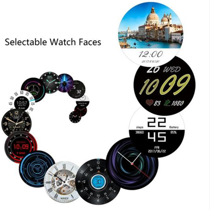 smartwatch Kingwear kw98 1 39 Inch AMOLED HD MTK6580 quad core 1 3GHZ ROM  8GB + RAM 512MB 400*400 for iOS/Android