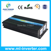 2500W DC AC Pure Sine Wave Power Inverter, 36V/60V/72V/96V/110V to 110V 115V 120V 127V 220V 230V 240V