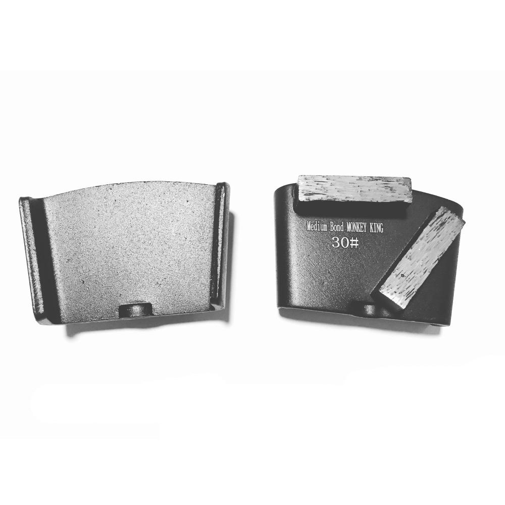 EZChange HTC Grinding Segment Pad Metal Diamond Concrete Grinding Pad Scraper For Concrete