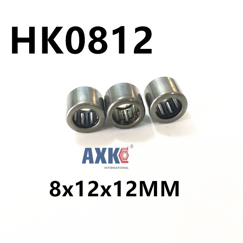 HK0812 8x12x12MM 35941/8 Drawn cup needle roller bearing free shipping drawn cup needle roller bearing hk1718 hk0709 hk2220 hk0812 ta1729 hk0612 hk1008 hk1812 hk1010 hk1212