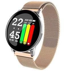 Esporte pedômetro relógio inteligente ip67 à prova dip67 água rastreador de fitness monitor de freqüência cardíaca relógio feminino smartwatch para android ios