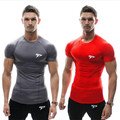 Halloween Hot Sell 2015 Summer Top Cotton Gasp T Shirts Men Gymshark Muscle Men Shirt Fitness Bodybuilding Man Short Sleeve Tees