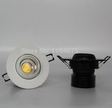Free Shipping Dimmable 15W LED COB Ceiling Down light Lmap Warm Cold White Recessed Lamp Shell CE Certificate 85-265V