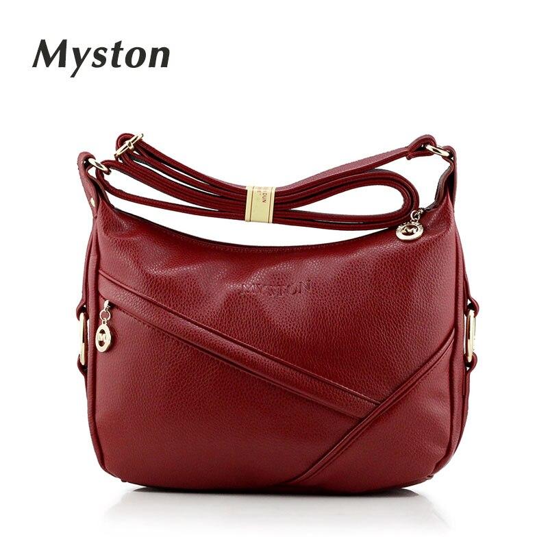 MYSTON Multi-Pocket Crossbody Purse Bag Women Small PU Messenger Bags Female Crossbody Shoulder Bags Mini Clutch Purse Bag