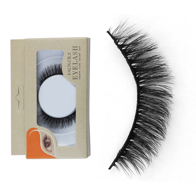 100% Mink Hair Eyelashes Extension Lashes Sexy Stripper Mink Lashes Hand  Made Full Strip Thick Women False Eyelash Cosmetics