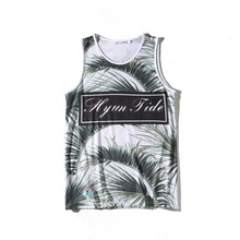 3D MenTops Mesh Vest HipHop Pattern Men's Casual Tank Tops Men's Tank Tops Mesh Surface Grid Quick-drying Sweat Men Vest