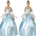 New Halloween Clothes Women Snow White Fancy Princess Cinderella Cosplay Costume Ladies Sexy Fancy Dress Clothes