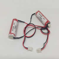 MasterFire 10 pz/lotto Nuovo Originale Versione MAXELL AA 14500 ER6C 3.6V Batteria Al Litio PLC Batterie Con Due Fori tappi per le orecchie