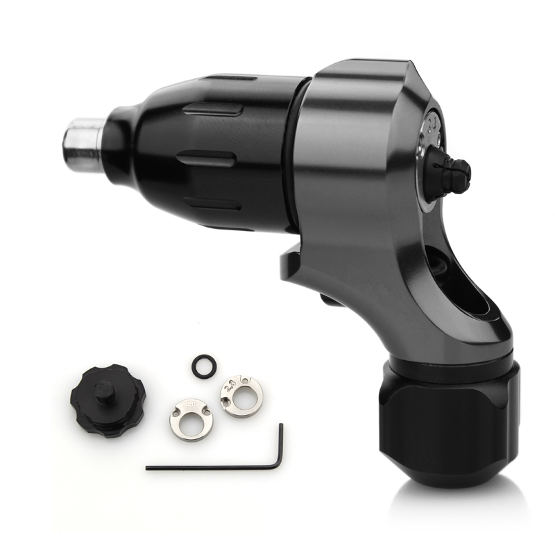 One Adjustable Stroke Direct 2 Drive Tattoo Machine Gun With Free RCA Cord Supply ручной пылесос handstick dyson v6 cord free extra sv03 350вт желтый