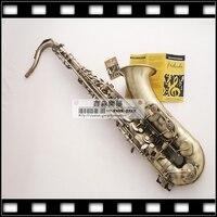 Salma Selmer Of France STS R54 B Flat Tenor Sax Antique Bronze Musical Instruments