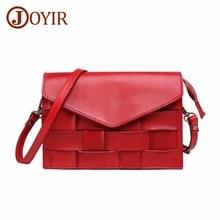 JOYIR Brand Crossbody Bags For Women Genuine Leather Fashion Flap Messenger Bag Women's Shoulder Bag Handbags Bolsa Feminina New цена и фото