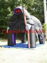 holiday giant halloween decoration inflatable haunted halloween grim reaper tent for party event celebrate - Giant Halloween Decorations