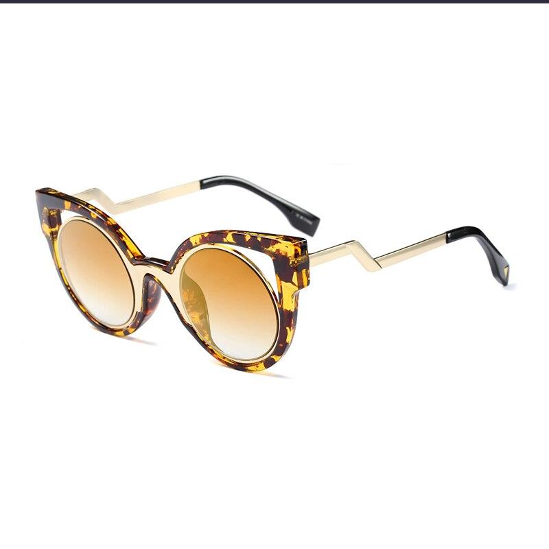 863b1bbdd04b88 ROYAL FILLE Nouvelle Marque De Luxe Designer Classique Cat Eye Style lunettes  de Soleil Femmes Vintage Ronde Lunettes de Soleil Gafas de sol ss540 dans  ...