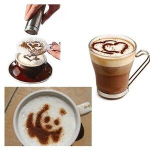 Image 5 - Aço inoxidável quente shaker chocolate farinha de cacau gelo açúcar em pó peneira de café tampa shaker cozinhar ferramentas de café acessórios