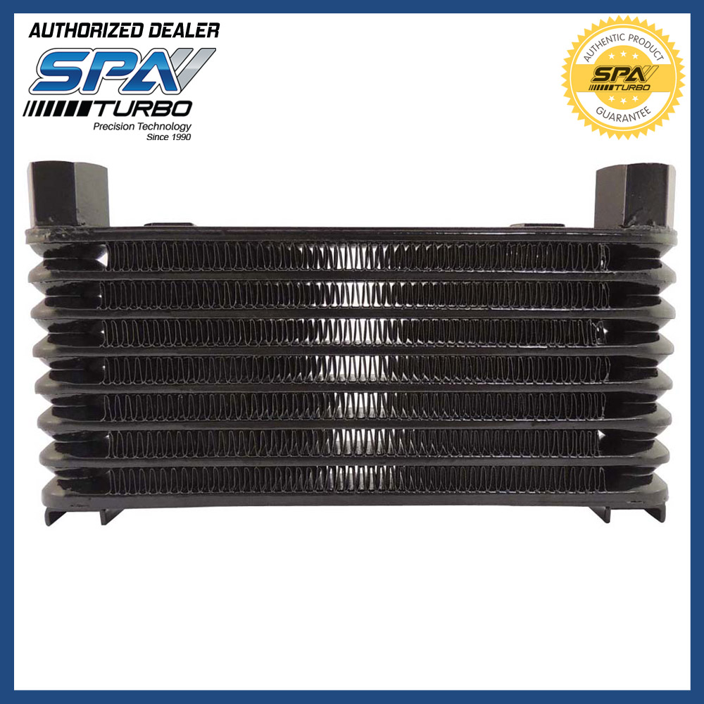 8 rows stacked engine transmission universal oil cooler