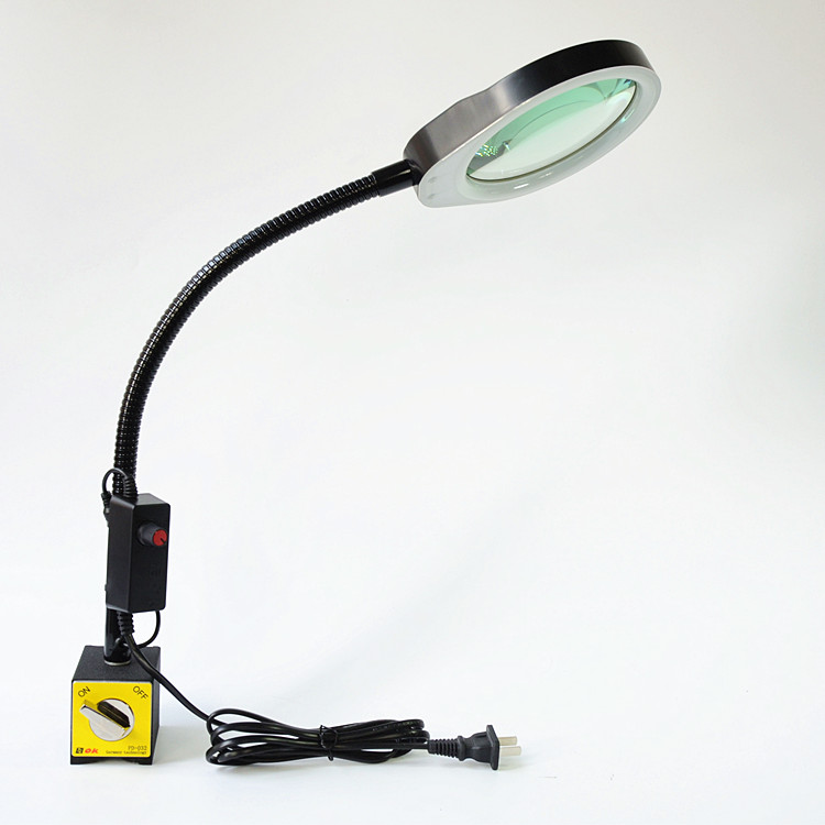 Magnifier Lamp With Magnetic Suction And Magnifying Glass PD-032B 3X