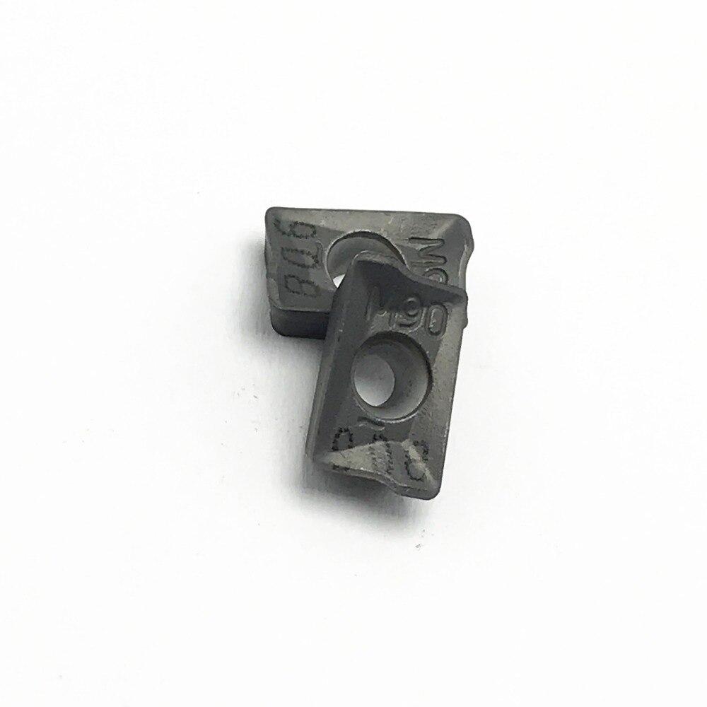 10 PCS APKT1003PDR IC908 alta precisão torneamento torno pastilhas de Metal Duro ferramenta APKT1003 peças CNC fresa