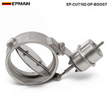 Импульс активированный Выпускной вырез/разгрузка 102 мм открытым Стиль Давление: около 1 бар для VW Гольф 4 ep-cut102-op-boost