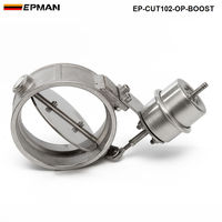 NEW Boost Activated Exhaust Cutout / Dump 102MM Open Style Pressure: about 1 BAR For VW Golf 4 EP CUT102 OP BOOST