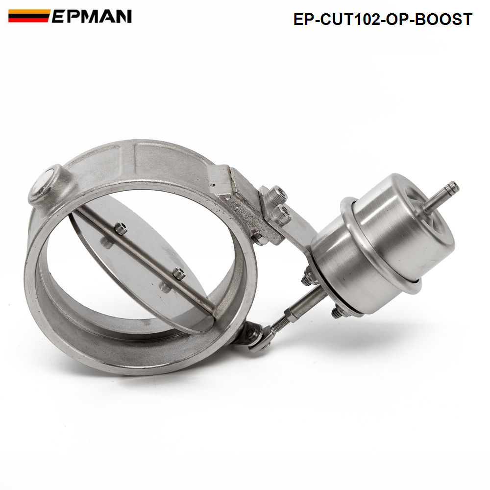 NEW Boost Activated <font><b>Exhaust</b></font> Cutout / Dump 102MM Open Style Pressure: about 1 BAR For <font><b>VW</b></font> <font><b>Golf</b></font> <font><b>4</b></font> EP-CUT102-OP-BOOST image