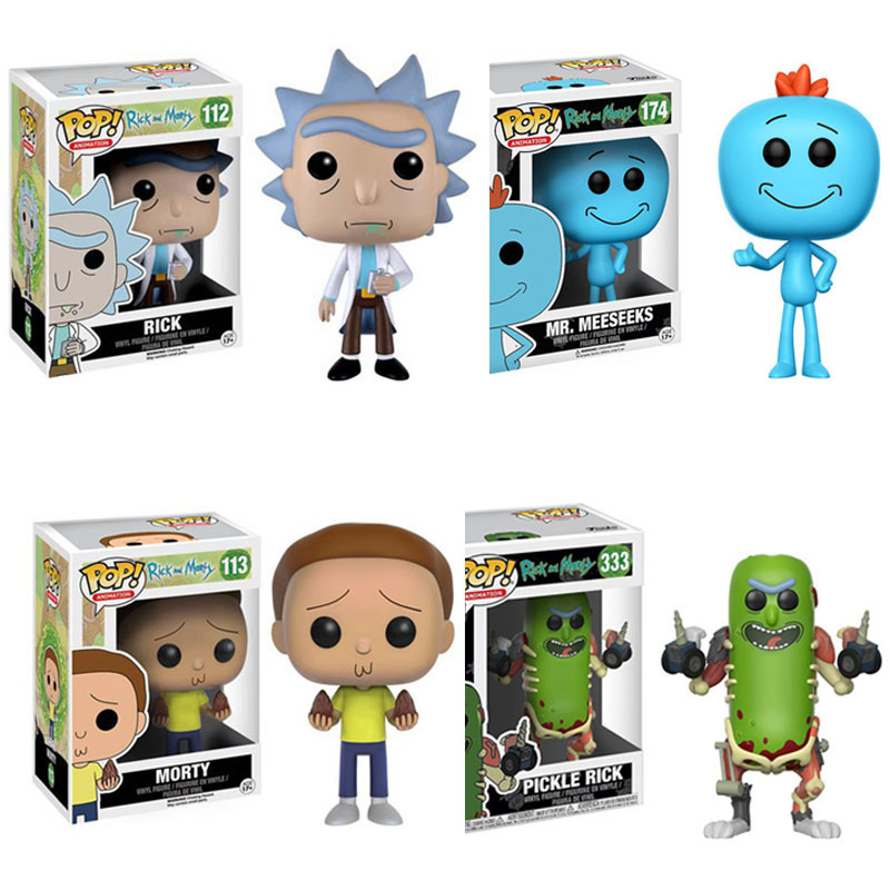 Funko Pop Rick And Morty Pickle Rick With Laser Mr