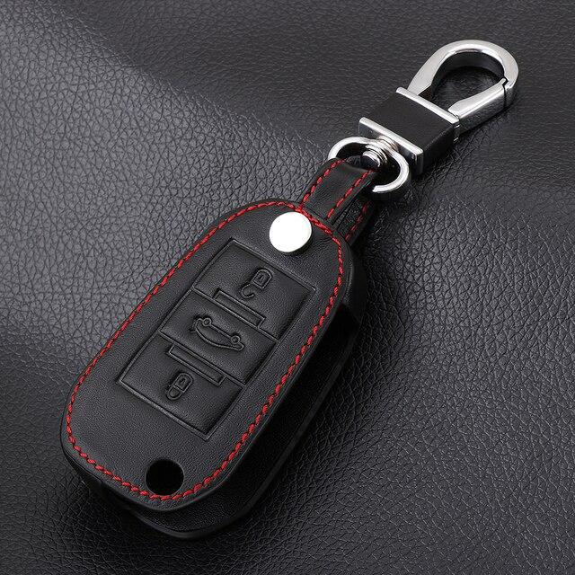 Vciic кожа ключа автомобиля крышка чехла для Citroen C4L кактус C5 C3 C6 C8 Пикассо Xsara для peugeot 3008 308 RCZ 508 408 2008KEY