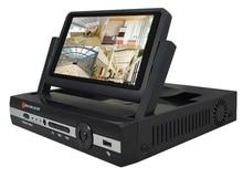 CCTV 4ch 1080N Digital Video Recorder with 7″ LCD Screen Hybrid DVR HVR NVR Home Security System JSA