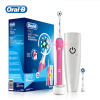 Oral B Sonic Electric Toothbrush Rotating 3D Celan Rechargeable Teeth Brush Oral Hygiene Tooth Brush 2 Teeth Brush Heads